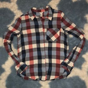 Forever 21 Plaid Shirt Size M